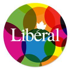 Liberal Pride Button   #CanQueer #Cdnpoli