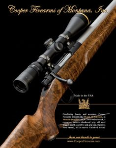 Cooper Firearms - M54 Repeater Hunting Art, Hunting Rifles, Weapons Guns, Guns And Ammo, Rifle Accessories, Bolt Action Rifle, Steel Barrel, Young Guns, Cool Guns