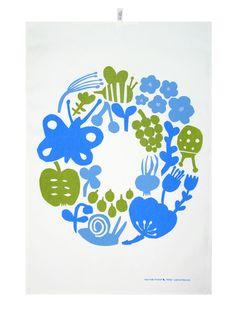 Textile prints by Leena Kisonen, via Behance