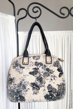 Женские сумки ручной работы. Сумка женская валяная бохо
