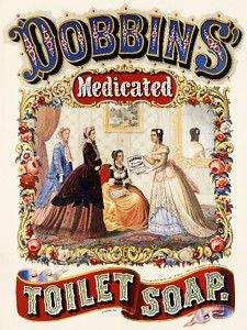 Vintage Victorian erA POSTER.Toilet Soap.Room Decor.Interior Designer.865 | eBay