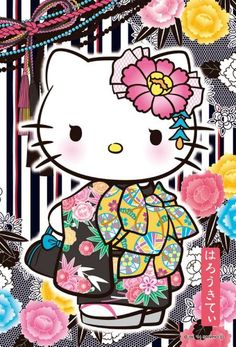 Quintessential Japanese cuteness: the Hello Kitty character from Sanrio in jigsaw puzzles at Imaginatorium Shop Hello Kitty Drawing, Hello Kitty Art, Hello Kitty Tattoos, Hello Kitty Pictures, Hello Kitty Birthday, Sanrio Hello Kitty, Here Kitty Kitty, Hello Kitty Characters, Sanrio Characters