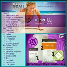 This 3 step vitamin regimen is #1 movement in health and wellness in the US!  It does so much while making you feel better! www.heidi239.le-vel.com
