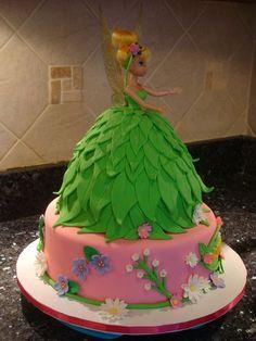 Tinkerbell cake ❤️