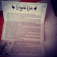 """""""La Leggenda di Jack"""" scritto da Alexander Land #100witchesday #100giornisulleormedellagrandemadre #SacerdotessediAvalon #SDA #SOdGM #MWL #giorno21 #021days #levereoriginidihalloween"""