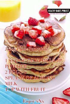 Juice Plus Pancakes