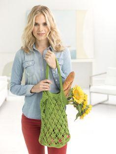 Trenton Tote: FREE crochet pattern