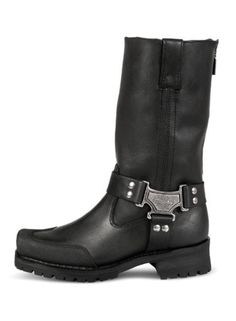 Special Offers - Milwaukee Motorcycle Clothing Company Mens Drag Harness Motorcycle Boots (Size 9) - In stock & Free Shipping. You can save more money! Check It (April 06 2016 at 07:18AM) >> http://bestsportbikejacket.com/milwaukee-motorcycle-clothing-company-mens-drag-harness-motorcycle-boots-size-9/