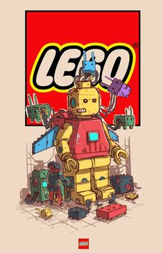 20 Illustrations Of Iconic Brands As Unique And Colourful Characters - 9GAG Cartoon Kunst, Dope Cartoon Art, R6 Wallpaper, Cartoon Wallpaper, Digital Foto, Illustrator, Dope Cartoons, Graffiti Characters, Robot Art