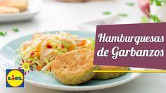 Hamburguesa de Garbanzos con Ensalada - Recetas Hoy Cocinamos