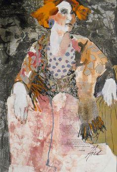 Texas based artist, Liz Hill.  See her gallery online: http://lizhillart.com/LizHillArt/Gallery.html