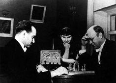 Chess game: Oistrakh vs. Prokofiev