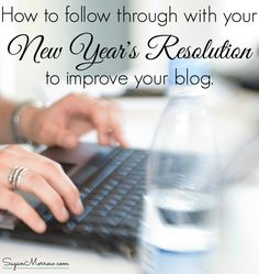 Did you make a new year's resolution to improve your blog... but it's something you're still struggling with? Never fear! Hiring an editor to polish your blog posts is an awesome way to improve your blog!