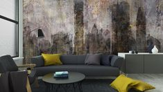 Fond ville grunge Washable Wall Mural ✓ Easy Installation ✓ 365 Days to Return ✓ Browse other patterns from this collection! Concrete Bath, Grunge, Man Wallpaper, Large Prints, Textured Walls, Home Textile, Wall Murals, Wall Decor, Wall Textures