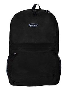 19d19a404d43 Basico Casual Daypack Backpack Heritage Style Black     Click image for  more details.