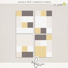 Quality DigiScrap Freebies: Template freebie from Amber LaBau Designs