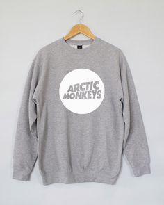Arctic Monkeys Sweatshirt. Arctic Monkeys Sweater. Arctic Monkeys Jumper. Arctic Monkeys Shirt. Arctic Monkeys T-shirt by domugo on Etsy