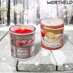 Weihnachtliche Duftkerzen in Schoko-Vanille und Zuckerbeere! Duften einfach himmlisch.  http://sheepworld.de/shop/Winter-14-15/3/