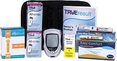 #True Test Diabetes Testing Kit - True Result Meter, 100 True Test Strips, 100 30g Slight Touch Lancets, 100 Alcohol Pads, 1 Lancing Device and Control Solution...