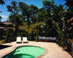 Casa Seu João private pool. UXUA Casa Hotel & Spa, Trancoso, Bahia, Brazil.