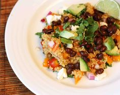 mexican salad with quinoa