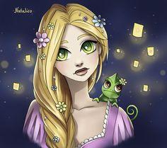 Rapunzel's dream by natalico