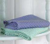Håndklæder i strukturmønstre Pot Holders, Dyi, Bomuld, Towel, Journal, Knitting, Crochet, Interior, Pattern