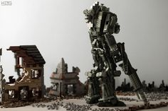 World War II-Themed Titanfall Lego Diorama
