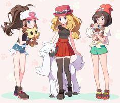Pokémon female trainers