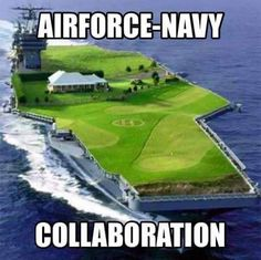 Air Force - Navy Collaboration - Military humor