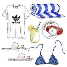 """Good objects - summer basics #goodobjects"""