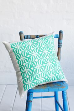 $99 Retro Cushion Fluro Jade