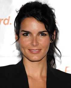 "Angie Harmon. I'm a big ""Law & Order"" fan and she was my favorite ADA on the show."