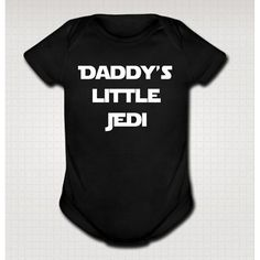 I found 'LITTLE JEDI funny baby one piece onesie bodysuit star wars yoda clothing clothes infant creeper boy girl gift One-PIECE Black Newborn on Wish, check it out! Funny Babies, Cute Babies, Star Wars Outfits, Dont Kill My Vibe, Star Wars Baby, One Piece Bodysuit, Baby Kids Clothes, Stylish Kids, Baby Love