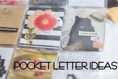 Need some inspiration for your Pocket Letters? I share some ideas on how to make an easy pocket letter that's not intimidating!