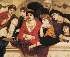 Simeon Solomon / Habet. 1865