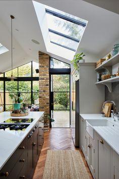 Design Case, Küchen Design, Layout Design, House Design, Victorian Terrace Interior, Victorian Kitchen, Victorian Design, Kitchen Extension Victorian Terrace, Open Plan Kitchen Dining Living