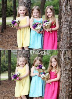 triplets love this color scheme....