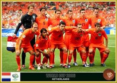 Holland team group for the 2006 World Cup Finals. 2006 World Cup Final, Fifa, Soccer, Retro, Sports, Group, World Football, Champs, Picture Cards