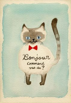 Because, well, everyone loves cats. Crazy Cat Lady, Crazy Cats, Siamese Cats, Cats And Kittens, Cats Bus, All About Cats, Mail Art, Kitsch, Illustrations Posters