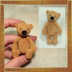 Erwan the bear amigurumi crochet pattern, digital pattern by minimonde on Etsy https://www.etsy.com/listing/83161752/erwan-the-bear-amigurumi-crochet-pattern