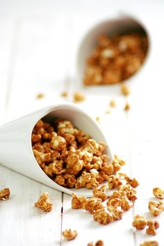 Caramel Popcorn (on those cold winter nights when my hubby and daughter and I are curled up on the couch watching Christmas movies!) :)