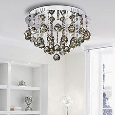 100W Contemporary Artistic Ceiling Light with 5 Lights (G4 Base) – USD $ 251.99