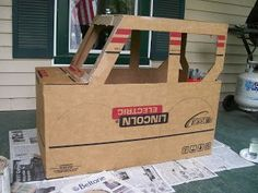 Widget Worm: Cardboard Jeep Safari Jungle, Safari Jeep, Jungle Party, Safari Party, Safari Theme, Jungle Theme, Cardboard Car, Cardboard Crafts, Vbs Crafts