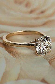 Simple engagement rings are the timeless classic. This tender and feminine rings never go out of style. Trends come and go but a classic diamond ring as they say remains forever. In any setting these engagement rings are elegant and beautiful. Simple rings dont mean boring There are so many diamond shapes gold color and beautiful details Weve