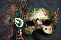 Peacock masquerade decorations   Peacock Feathered Prom Dresses Ideas   Fashion Believe