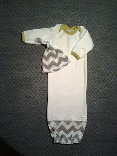 5e848e6683b baby boys hospital coming home outfit with matching hat. grey and white  chevron  Baby