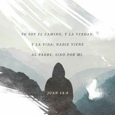 Jesús le contestó: —Yo soy el camino, la verdad y la vida; nadie puede ir al Padre si no es por medio de mí. Juan 14:6