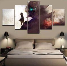 AuBergewohnlich Wandkunst Leinwand HD Gedruckt 5 Stücke Fortnite Role Painting Spiel Poster  Für Moderne Wohnzimmer Decor Modularen Bilder Kunstwerke | Wohnkultur | ...