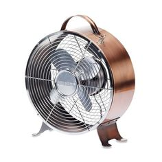 Talk About A COOL FAN! With A Sleek Round Shape, Sharp Retro Look And